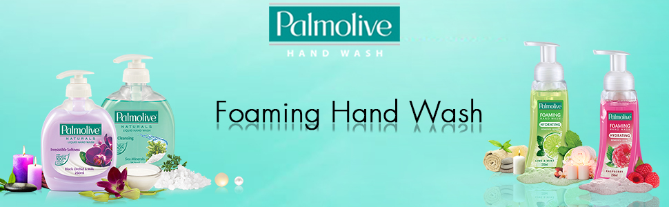 Palmolive Foaming Hand Wash Lime and Mint