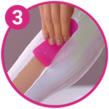 Veet Hair removal Cream How to Use Step 3