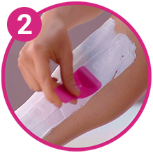 Veet Hair removal Cream How to Use Step 2
