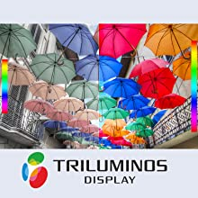 TRILUMINOS™ Display: Extra colours, extra brilliance