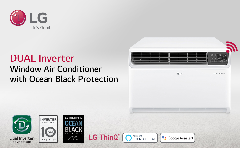 LG Best Window 1.5 Ton AC in India