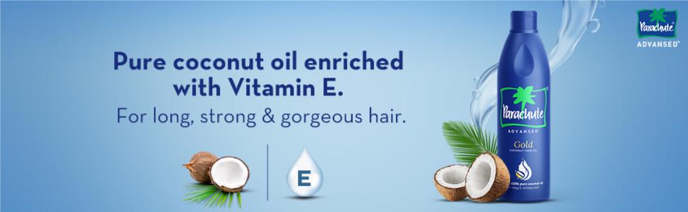 hair oil,coconut oil,pure coconut oil,coconut hair oil,gold hair oil ; parachute; parachute advansed
