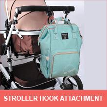 stroller D ring motherly diaper bag